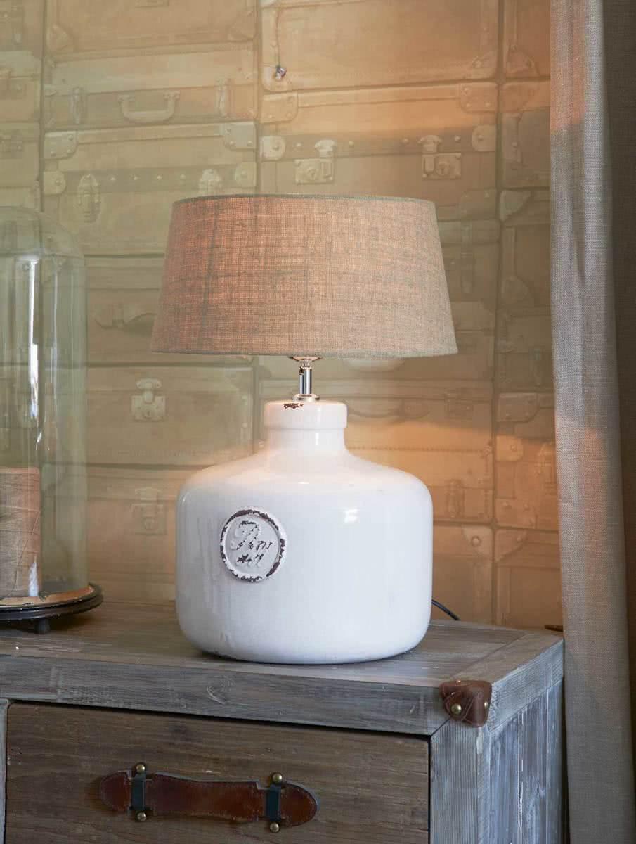 Classic Craquelé Bottle Lamp Base M
