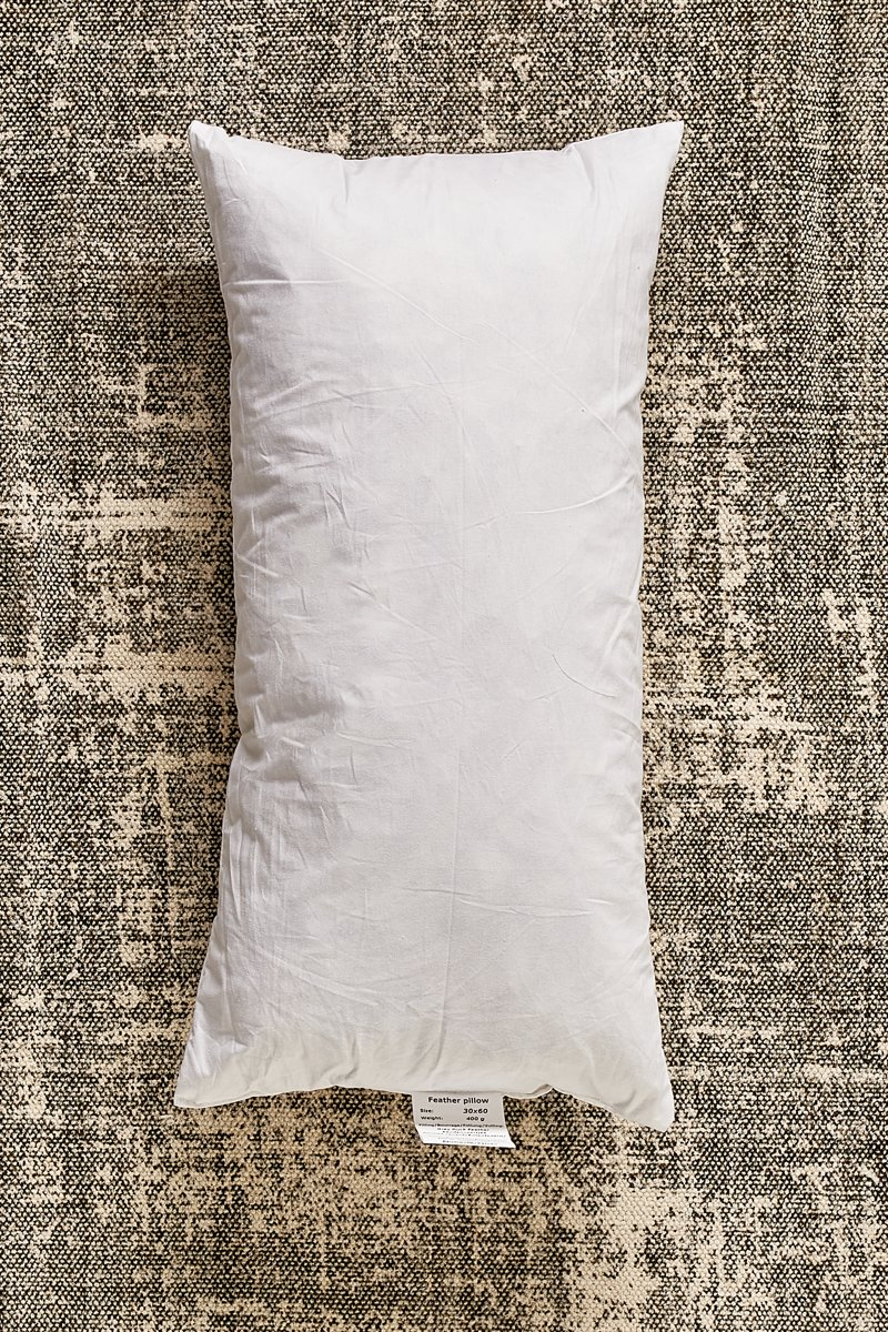 Feather Inner Box Pillow 60×30