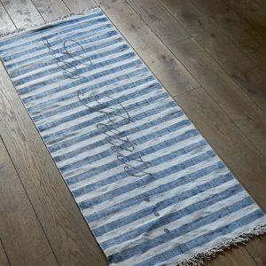 Les Petits..Kids Carpet blue 180×70