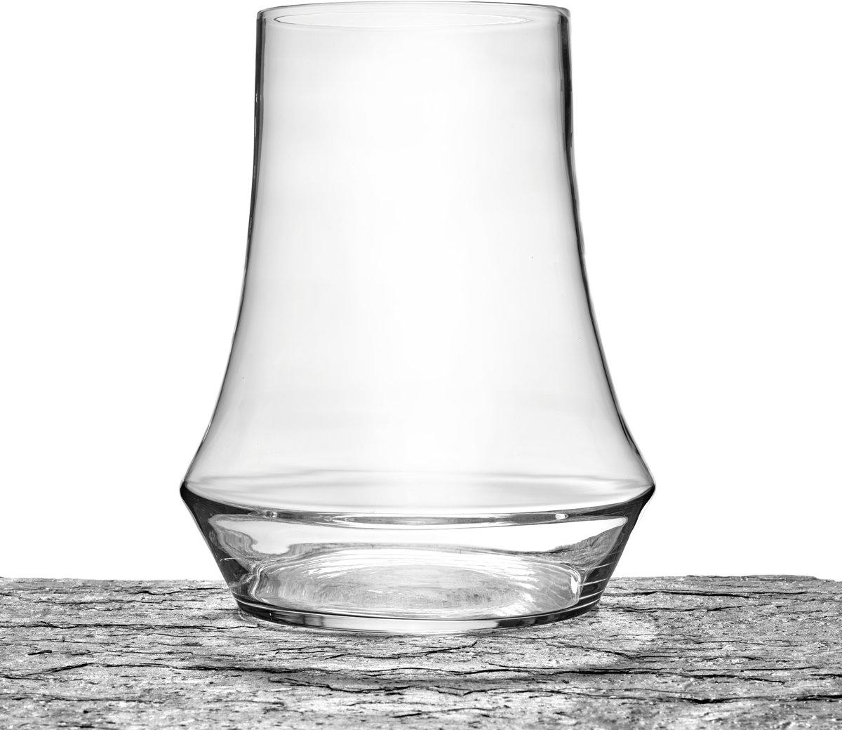 Maison P derrey – Vaas – Decoratief glas – Taps toelopend – Glas – Glaswerk – Mondgeblazen glas