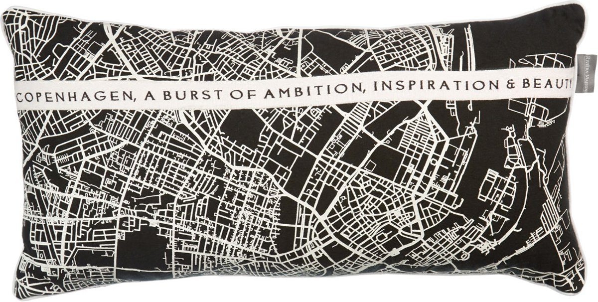 Rivi ra Maison Ambition – sierkussen – 30×60 cm – Zwart