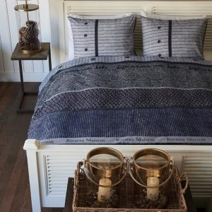 Rivi ra Maison Champlain – Dekbedovertrek – Lits-jumeaux – 240×200/220 cm – Blauw