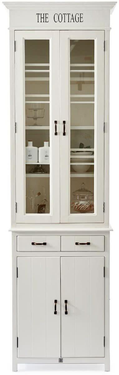 Rivi ra Maison The Cottage Kitchen Glass Cabinet – Buffetkast – Wit