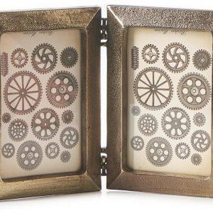 Rivi ra Maison – Varazze Dual Photo Frame – Goud – Aluminium