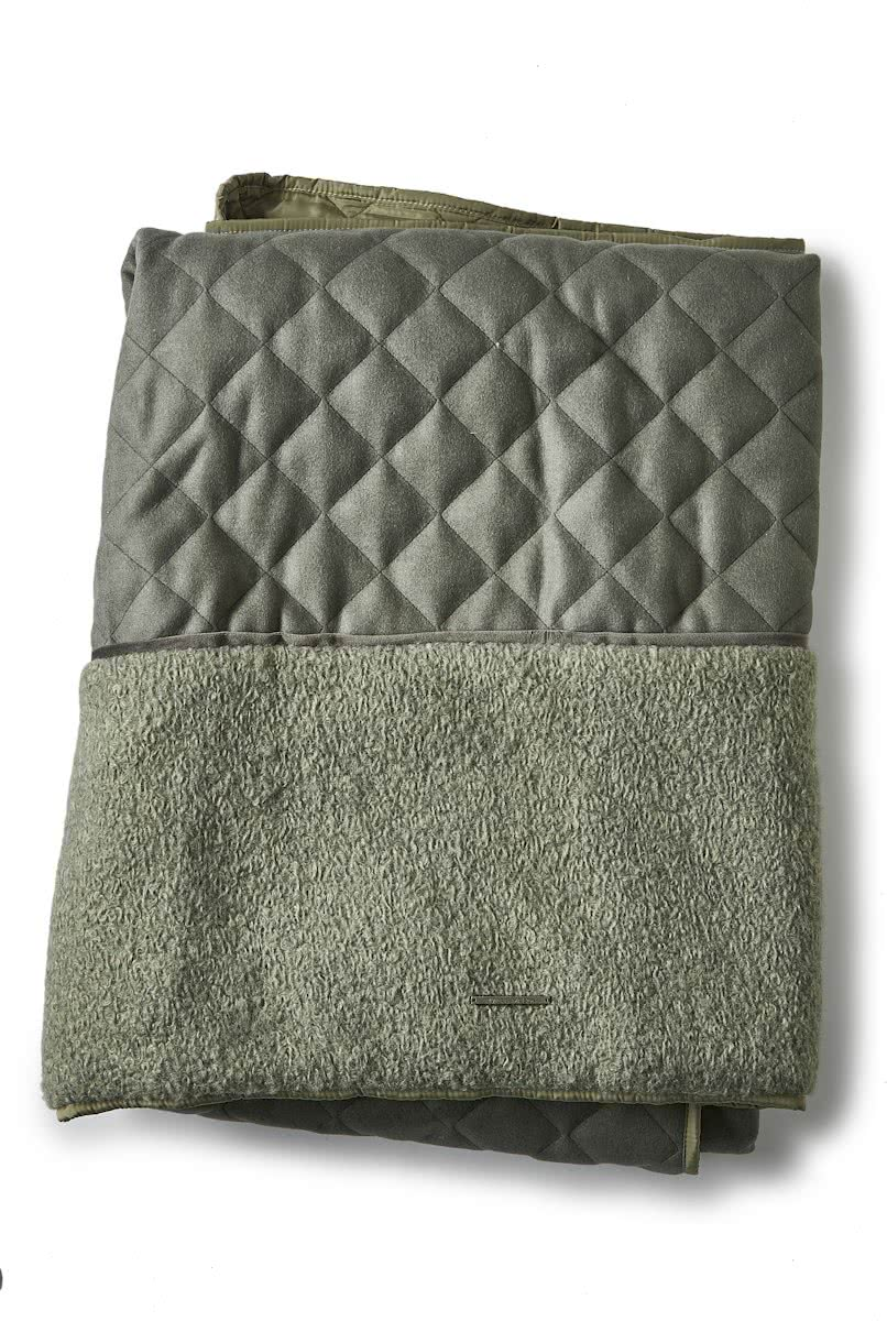 Riviera Maison – Allure Forest Throw – 180×130 – Plaid – Groen – Polyester, Wol