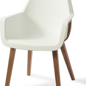 Riviera Maison Amsterdam City Dining Chair – White – Eetkamerstoel