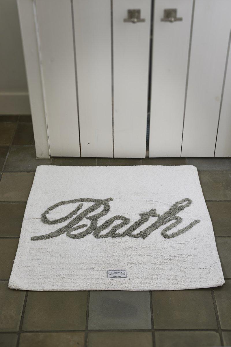 Riviera Maison Handdoeken.Riviera Maison Bath Mat Bath Badmat 50x80 Wit Flax Katoen