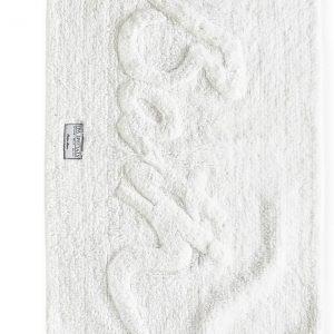 Riviera Maison – Bath Mat 'Bath' pure white – Badmat – Wit – Katoen