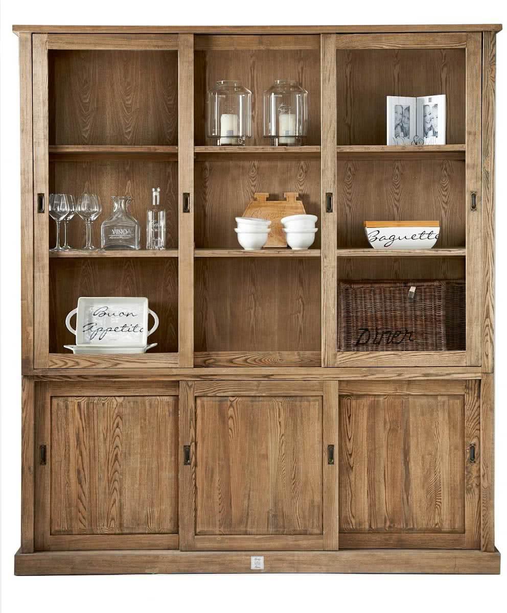 Riviera Maison Blue Hills Cabinet – Buffetkast – Hout – Met 3 deuren