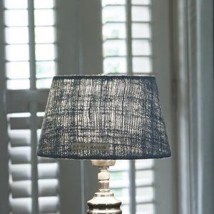 Riviera Maison Brianna Lampshade – Lampenkap – 15×20 – Aqua – Katoen