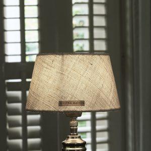 Riviera Maison Brianna Lampshade – Lampenkap – 15×20 – Beige – Katoen