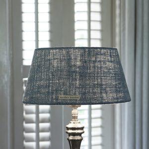 Riviera Maison Brianna Lampshade – Lampenkap – 23×30 – Aqua – Katoen
