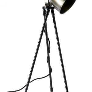 Riviera Maison – Bricklane Table Lamp steel – Tafellamp – Aluminium
