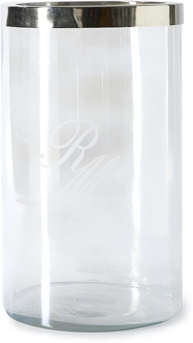 Riviera Maison – Bridgelane RM Hurricane L – Windlicht – Transparant – Glas