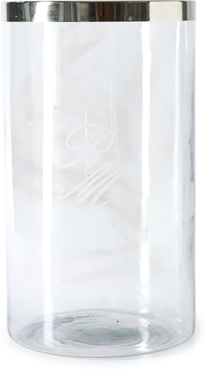 Riviera Maison – Bridgelane RM Hurricane XL – Windlicht – Transparant – Glas