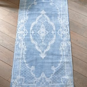 Riviera Maison Burgazada Carpet – Vloerkleed – 70 x 180 cm – Blauw