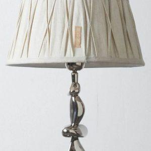 Riviera Maison Cambridge Lamp Shade – Lampenkap – Bruin – 23 x 30 cm – Linnen