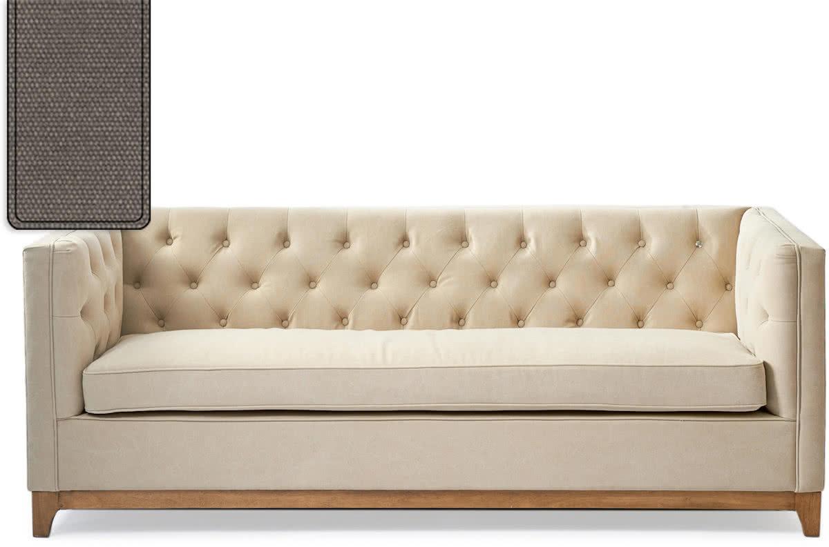 Riviera Maison Central Park Sofa – 3-zitsbank – Mauve/Hout