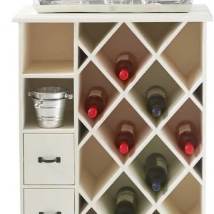 Riviera Maison Château Clairemont Wine Cabinet – Wijnkast – Wit