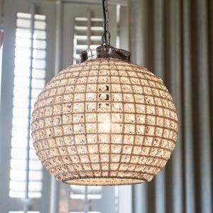 Riviera Maison Chantilly Chandelier Casablanca – Hanglamp – M – Aluminium – 41 cm