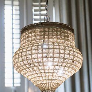 Riviera Maison Chantilly Chandelier Marrakech – Hanglamp – L – Aluminium – 46 cm