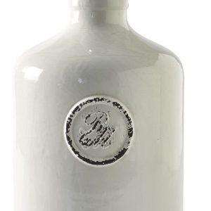 Riviera Maison Classic Craquelé Bottle Lamp Base M – Tafellamp – Wit