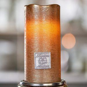Riviera Maison – Classic LED Candle bronze 7,5×15 – Led-lamp