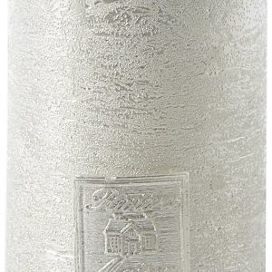Riviera Maison – Classic LED Candle silver 7,5×12,5 – Led-lamp