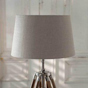 Riviera Maison Classic Lamp shade – Lampenkap – Bruin – 23 x 30 cm – Linnen