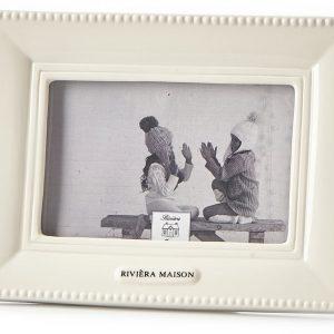 Riviera Maison – Classic Photo Frame 15×10 – Fotolijst – Wit – Porselein
