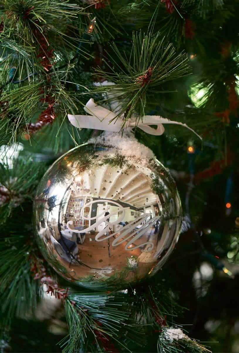 Riviera Maison Classic RM Christmas – Kerstdecoratie – Ø 15 cm