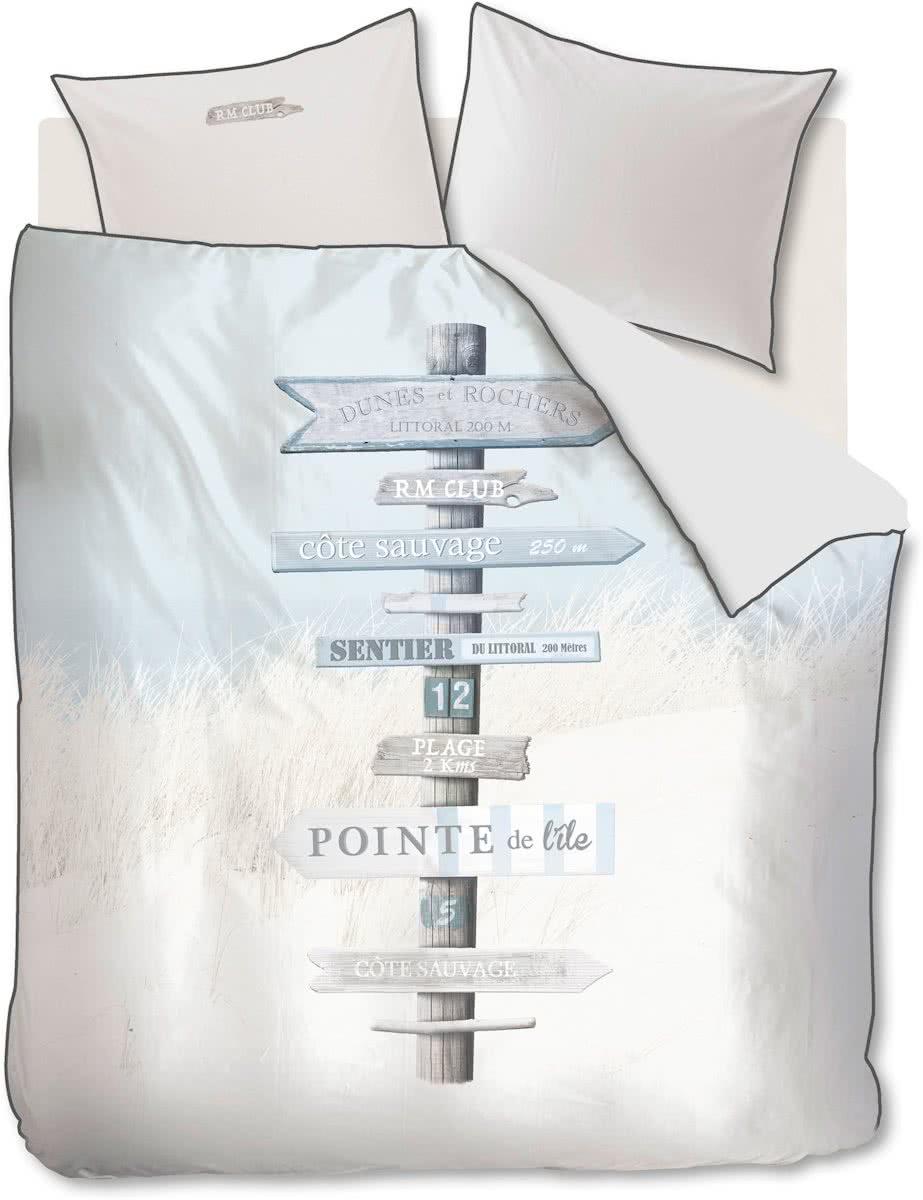 Riviera Maison Cote Sauvage – Dekbedovertrek – Tweepersoons – 200×200/220 cm -Mint Groen