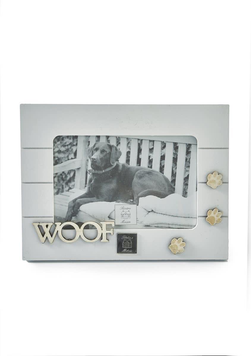Riviera Maison Doggie Footprint – Fotolijst – Fotoformaat 15 x 10 cm – Hout