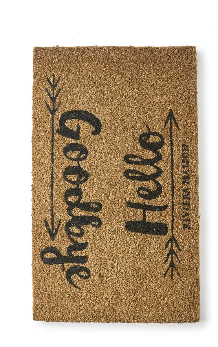 Riviera Maison – Doormat Good to be Home – Deurmat – Naturel