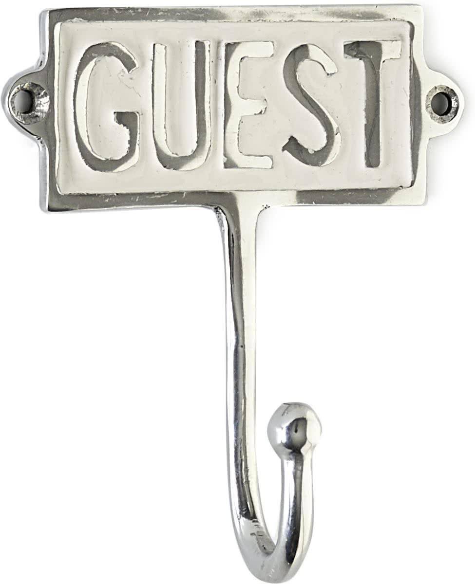 Riviera Maison – Guest Hook Enamel – Ophanghaken – Aluminium