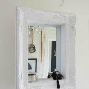 Riviera Maison Hampton Mirror – Spiegel – 85 x 65 cm – Wit