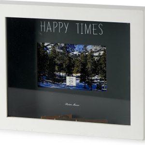 Riviera Maison – Happy Times Photo Frame 15×10 – Fotolijst – Wit – Hout