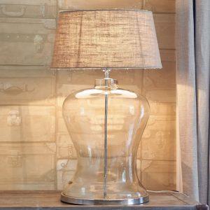 Riviera  Maison – Kensington Hotel Lobby Lamp – Tafellamp – Glas
