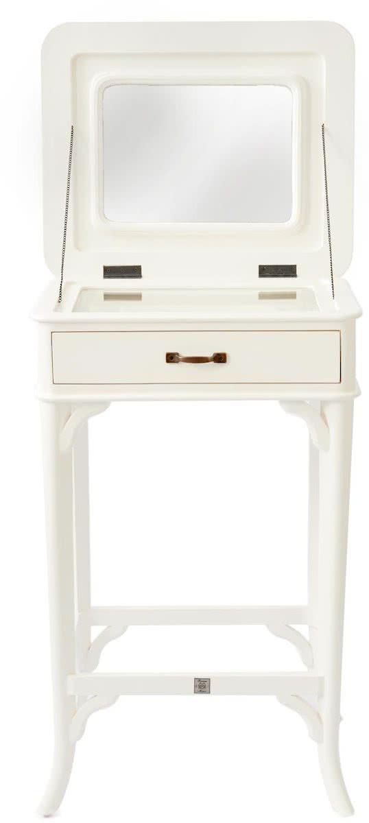 Riviera Maison La Vie est Belle Jewlery Table – Kaptafel – 50 x 40 x 80 cm – Wit