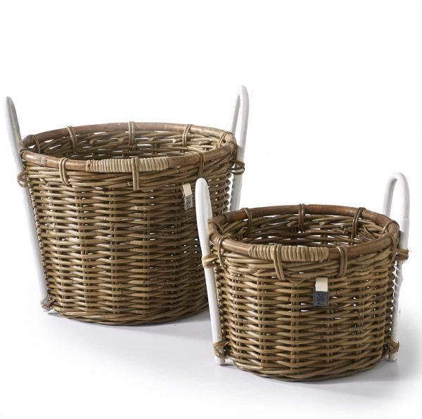 Riviera Maison – Le Cannet Basket S/2 – Manden en boxen – Naturel – Rattan