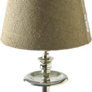 Riviera Maison Linen natural Lamp shade – Lampenkap – 15 x 20 cm – Natural – Wol