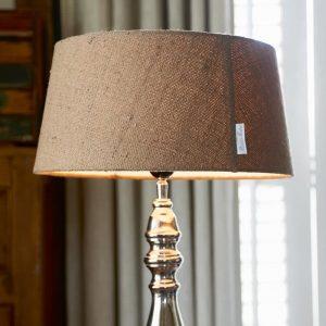Riviera Maison Linen natural Lamp shade – Lampenkap – 30 x 35 cm – Natural – Wol