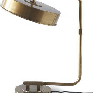 Riviera Maison Madison Square Studio Lamp – Tafellamp – Goudkleurig