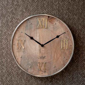 Riviera Maison – Midhurst Clock – Klok – Hout/creme
