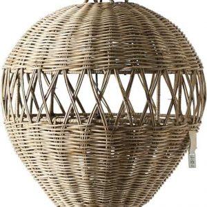 Riviera Maison – Montgolfier Hanging Lamp – Hanglamp – Naturel – Rattan