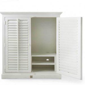 Riviera Maison New Orleans Flatscreen Dresser – TV-meubel – Wit