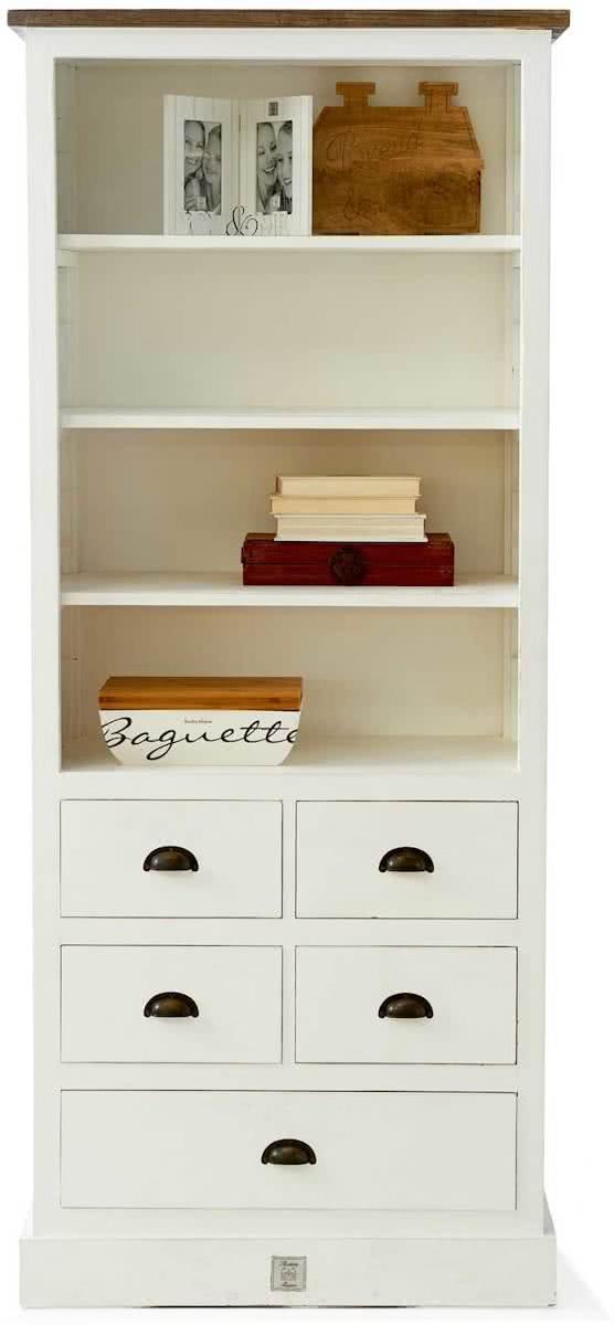 riviera maison newport high cabinet boekenkast