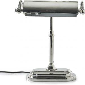Riviera Maison – Oval Office Desk Lamp – Bureaulamp – Zilver