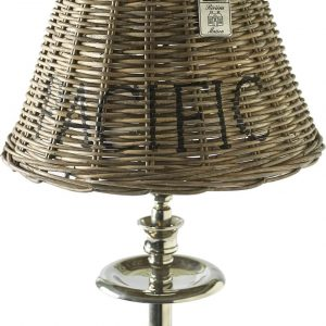 Riviera Maison Pacific Lamp Shade – Lampenkap – Maat S – Rattan