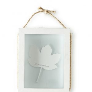 Riviera Maison – Pretty Leaf Photo Frame M – Fotolijst – Wit – Hout